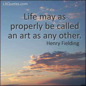 Henry Fielding Quote