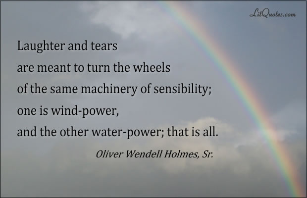 Oliver Wendell Holmes, Sr. Quote